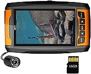 LUCKY DVR Video Fishing Camera Boat Infrared Light Cameras Fishing Kayak Video Remote Underwater Cameras Fish