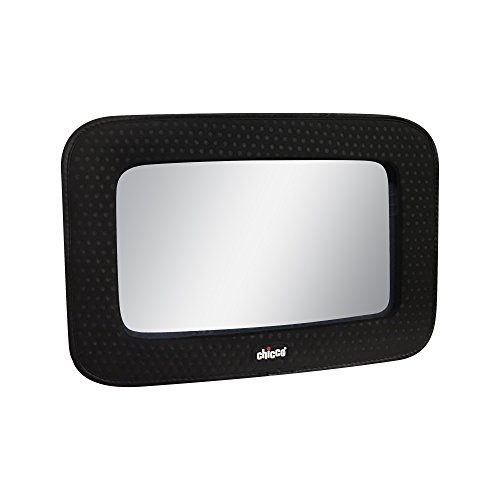 Chicco Backseat Mount Fabric Framed Mirror with Adjustable (Framed Pivoting Mirror)