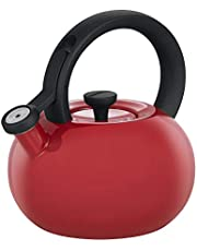 Circulon Circles Circles Stovetop Kettle, Red, 478950