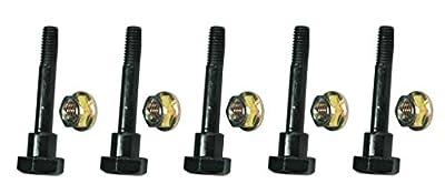 (5) SHEAR PINS & BOLTS fits Honda HS1132 HS50 HS55 HS624 HS70 Push Snowblowers by The ROP Shop