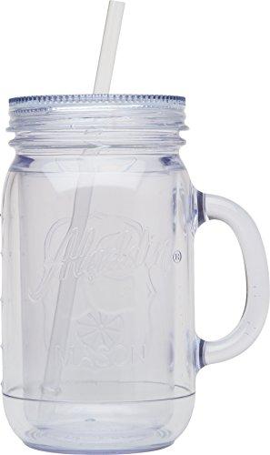 plastic mason jars drinking - 5