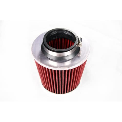 "3.5/"" Cold Air Intake Filter Universal RED For K3500//K2500//K2500 Suburban"