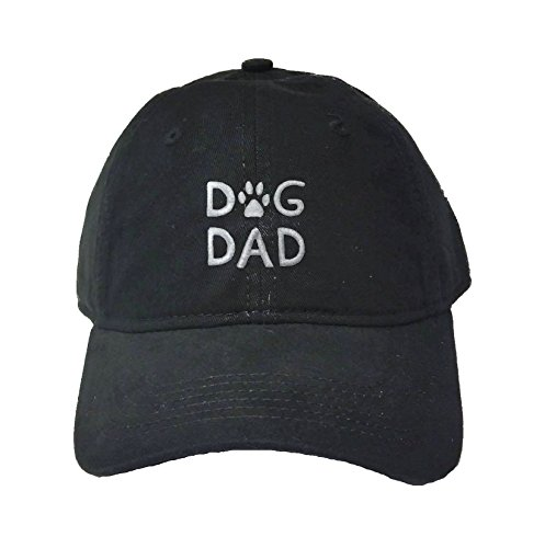 Go All Out Adult Dog Dad Embroidered Deluxe Dad Hat