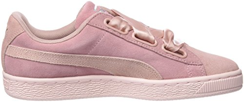 Femme Pebble Basses Rose Puma Sneakers Vieux Suede Wn's Heart Z7YwE