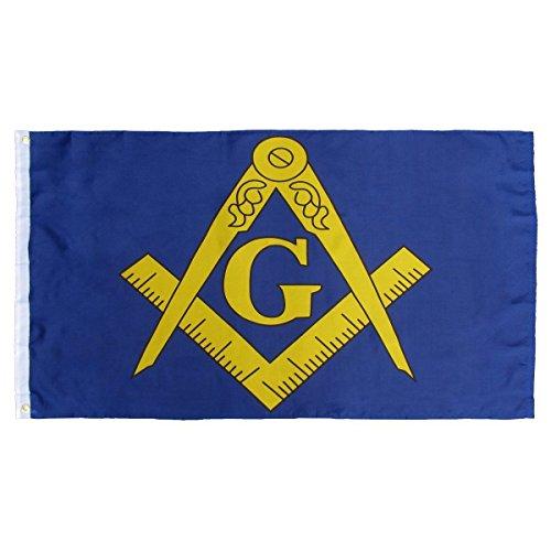Masonic flag blue