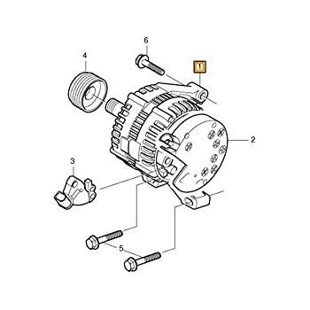 amazon volvo 36001105 alternator automotive Chrysler Alternator Wiring volvo 36001105 alternator