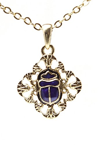 Lead-free pewter Necklace - Scarab