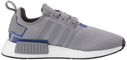 adidas Originals Men's NMD_R1 Running Shoe Grey/Active Blue, 4 M US by adidas Originals (Image #7)
