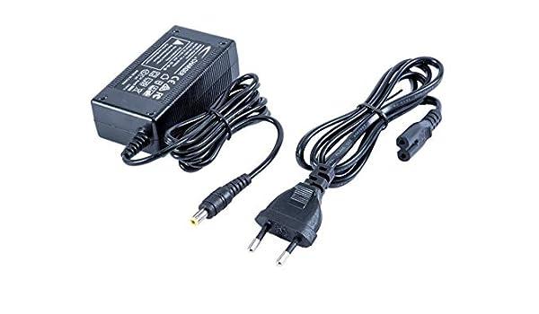 Cargador con Cable de alimentación 22.5 V/1.25 A, 5.5/2.5 mm ...