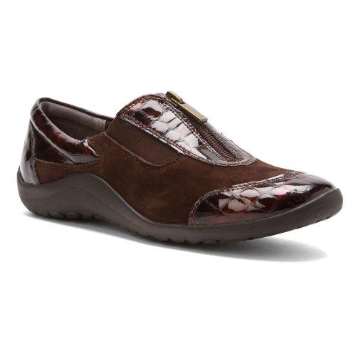 Dark S Kid Sneakers Suede N Patent Ros Brown Brown Hommerson Croc Nadia gqwxXwtpU