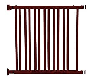 Dreambaby L829 Dark Wood Expandable Gate (Chocolate)