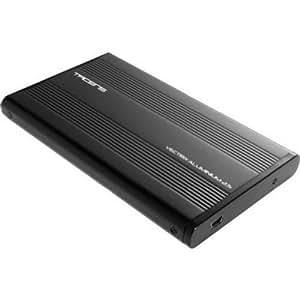 """Tacens Vectrix  - Caja Externa Hd Sata 2.5"""" Usb 2.0  Aluminium Black"""