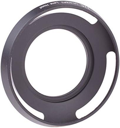 Jjc Lh 37epii Black Gegenlichtblende Für Objektiv Mit Kamera