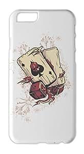Gambling Cards Skull Iphone 6 plus case