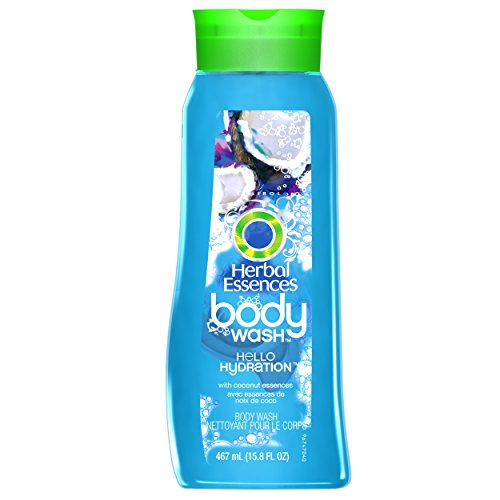 Herbal Essences Hello Hydration Body Wash 15.8 Fl - Moisturizing Wash Herbal Body