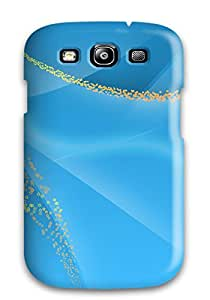 Hot XVhjdNF7813DAgkx Nice Light Blue Tpu Case Cover Compatible With Galaxy S3