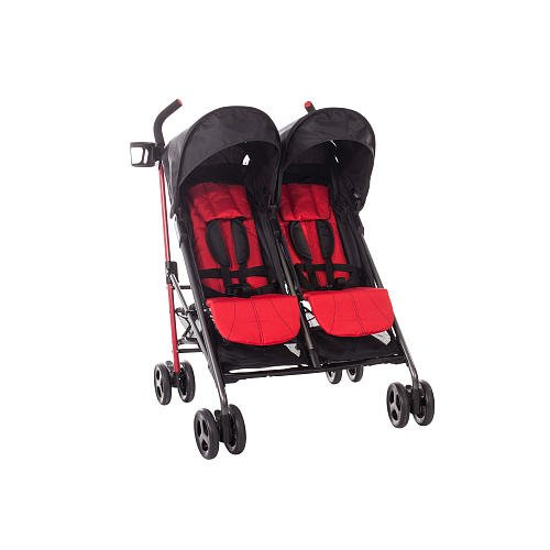 Amazon Com Babies R Us Zobo 2x Side By Side Stroller Cherry Baby