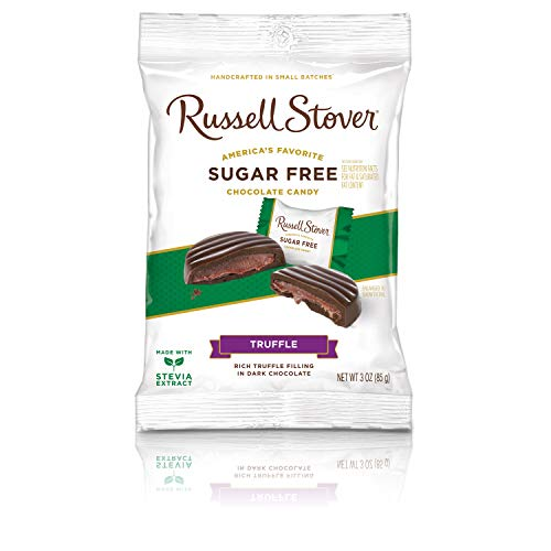 Russell Stover Sugar Free Chocolate Truffles, 3 oz. Bag