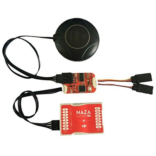 calistouk Mini FPV Flight Controller N1/OSD-Modul f/ür DJI Naza V1/V2/NAZA Lite GPS