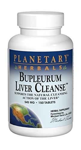 Planetary Herbals Bupleurum Liver Cleanse 545mg - With Calcium, Cypress Rhizome, Ginger & More - 150 Tablets by Planetary Formulas (Image #6)