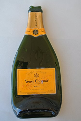 Veuve Clicquot Magnum Melted Bottle Cheese Serving Tray - Wine Gifts