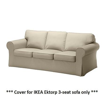 IKEA EKTORP - funda protectora para sofá de 3 plazas ...