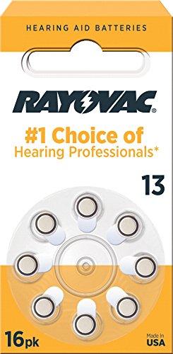 Rayovac L13ZA 8ZM Mercury Hearing Battery