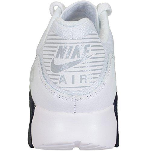Nike Damen Air Max 90 Ultra 2.0 Weiß Leder Sneaker White/Navy