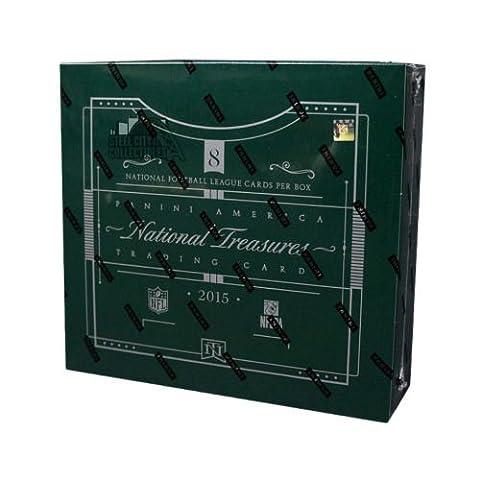 2015 2016 Panini NFL National Treasures Football Hobby Box Pack - Treasure Ball