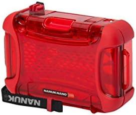 Nanuk 330-0009 Nano Series Protective Case (Red) [並行輸入品]