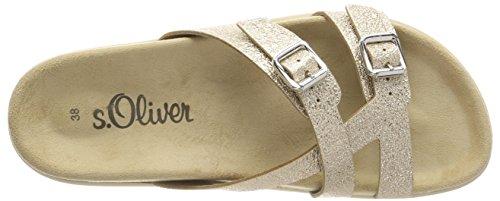 oliver S 27114 Gold Oro Ciabatte Donna lt awASqzT