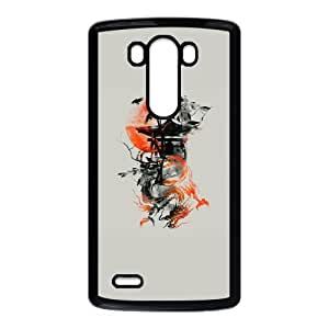 LG G3 Cell Phone Case Black The Lost Temple Hard Cell Phone Cases Protective UEX
