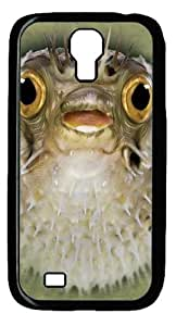 diy phone caseCool Painting Samsung Galaxy I9500 Case,Big Face Blow Fish Polycarbonate Hard Case Back Cover for Samsung Galaxy S4/I9500diy phone case