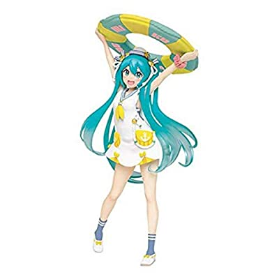 "Taito Original Summer Clothes 7"" Hatsune Miku Action Figure (Renewal Version): Toys & Games"