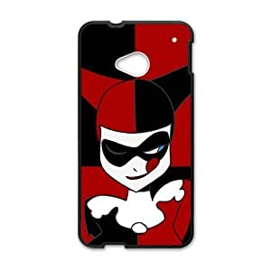 Black and red joker Cell Phone Case for HTC One M7
