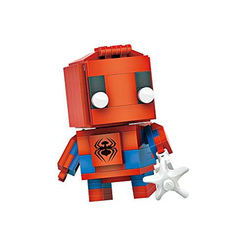 Micro Brickland Hero Armored Action Figure Mini-Sized Building Bricks Mini Figure Set (145 Pieces)