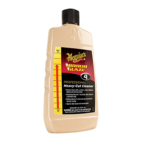 Meguiar's M0416 Mirror Glaze Heavy-Cut Cleaner