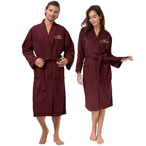 AW Couples Cotton Kimono Bathrobe