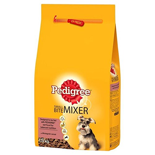 Pedigree Small Dog Mixer Original 1.5kg (PACK OF 6)