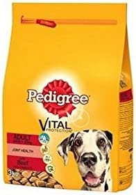 Pedigree Large Breed Adult Complete Dog Food with Beef (15kg) (Pack of 6) – Dogs Corner