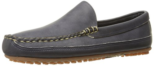 Allen Edmonds Men's Interstate 90 Slip-On Loafer, Navy Fargo, 11 D US