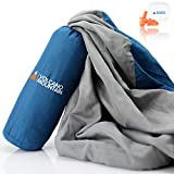 Volcano Mountain Sleeping Bag Liner - Camping Travel Sheets and Ultra Lightweight Adult Sleep Sack. Best for Travel, Camping & Backpacking Hostels and Hotels.