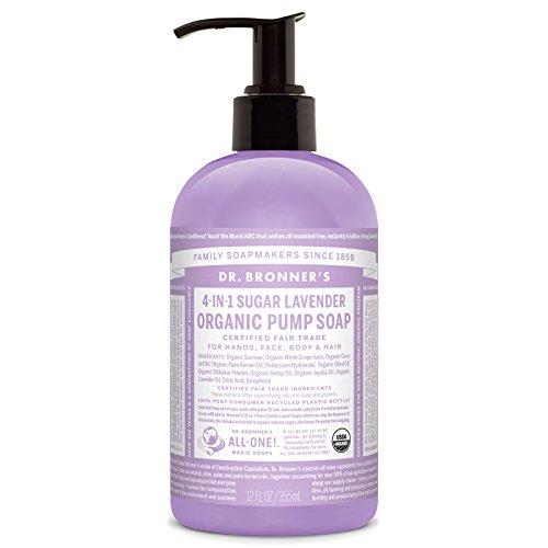 Dr. Bronner's Organic Pump Soap - (Lavender, 12 Fl Oz)