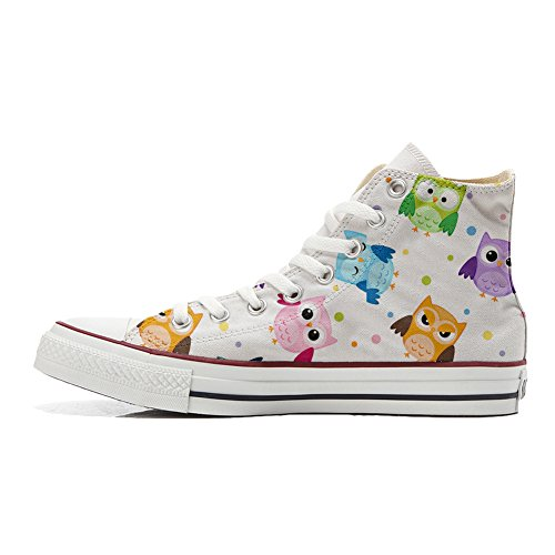 Converse All Star zapatos personalizadas Unisex (Producto Customized) Tiny Owls