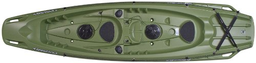 BIC Trinidad Fishing Kayak, Green ()