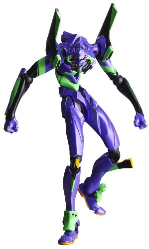 Evangelion Eva 01 Test Type - Revoltech: 067 Neon Genesis Evangelion Eva Test Type-01 New Movie Edition Ver. 2.0 PVC Figure by Kaiyodo