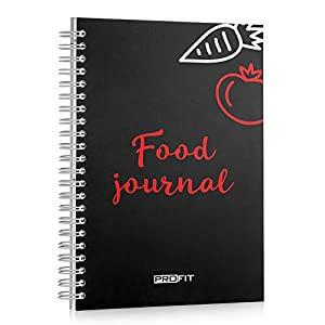 Daily Food Journal – Meal Planner for Weight Loss and Fitness – Food Diary – Diet Planner | Easy-To-Use 16-week A5 Diet Planner / 6×8 Inches / 142 Pages