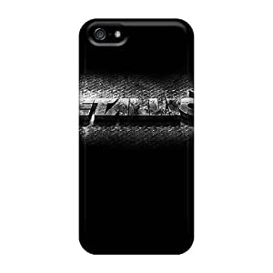 Iphone 5/5s FEf17365wbPn Provide Private Custom Colorful Metallica Band Skin High Quality Hard Phone Case -AshleySimms