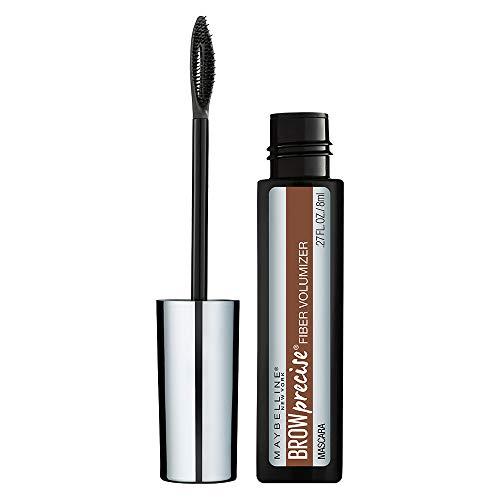 Maybelline New York Brow Precise Fiber Volumizer Eyebrow Mascara, Soft Brown, 0.27 fl. oz.
