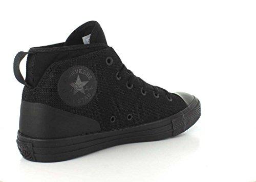 Converse Unisex Chuck Taylor All Star Syde Street Mid Sneaker Schwarz / Schwarz / Schwarz